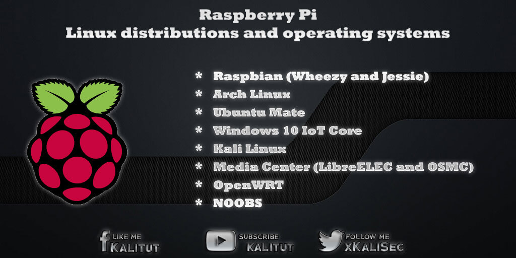 Raspberry Pi Linux distributions and operating systems