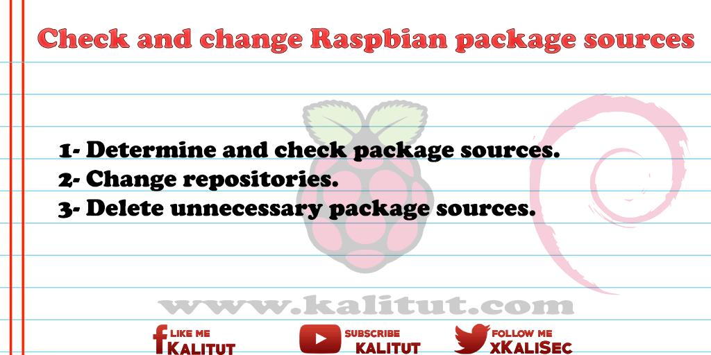 Raspbian package sources