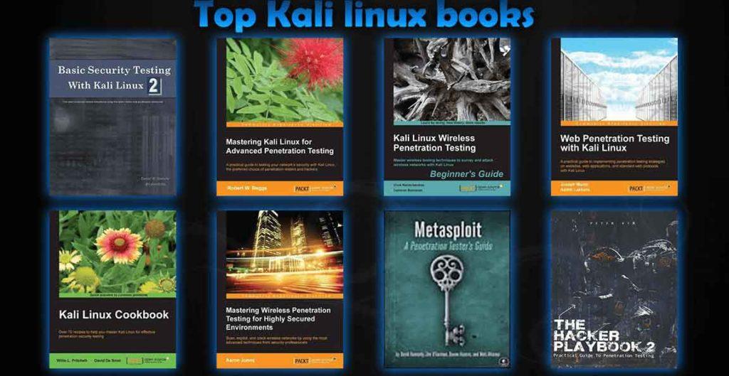 best kali linux books