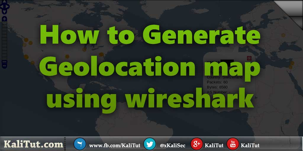how to generate ip geolocation map