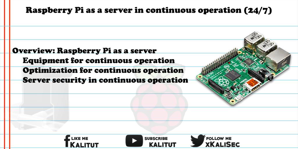 Raspberry Pi as a server