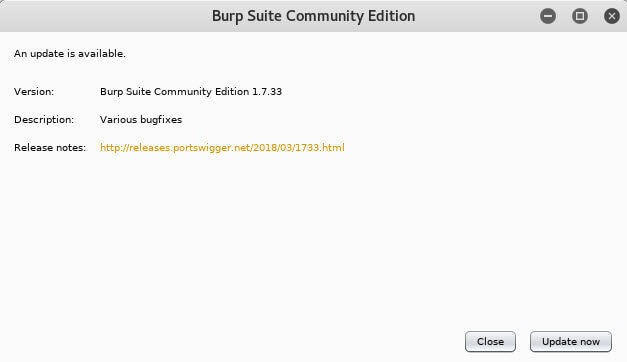 What is burp suite?