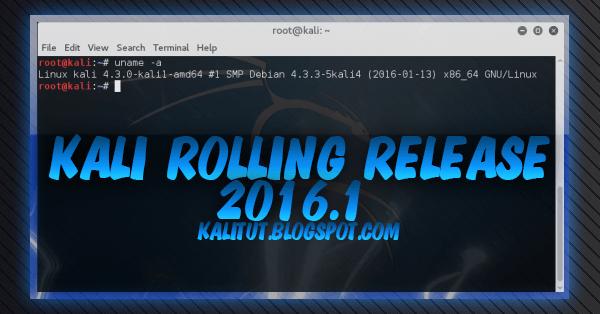 Kali rolling