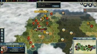 Civilization 5 Rise of the Mongols Last Russian City