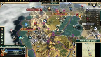 Civilization 5 Scramble for Africa Boers Deity Peace Germany