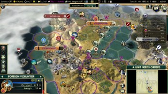 Civilization 5 Scramble for Africa Boers Deity Peace Germany