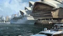 Civilization 5 Archaeology Achievements - Sydney Opera House