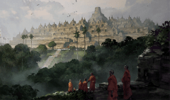 Civilization 5 Wonder - Borobudur