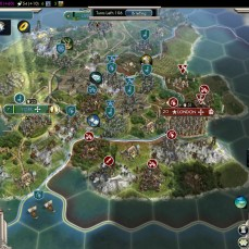 Civilization 5 Into the Renaissance Celts Deity Temporary Peace with England