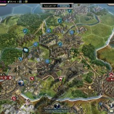 Civilization 5 Into the Renaissance Celts Deity Citadels for offense