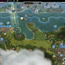 Civilization 5 Into the Renaissance Celts Emperor Attacking France