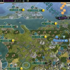 Civilization 5 Into the Renaissance Celts Emperor Celtic Britain and France