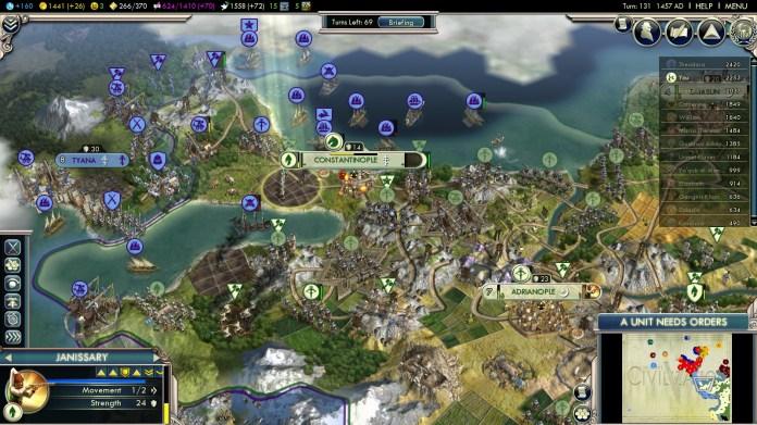 Civilization 5 Into the Renaissance Mehmet the Conqueror Achievement