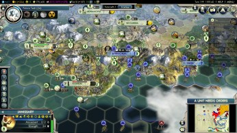 Civilization 5 Into the Renaissance Mehmet the Conqueror 199 last Byzantine cities in Turkey