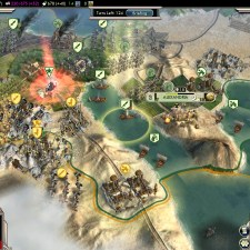 Civilization 5 Into the Renaissance Turks Deity Cairo citadel