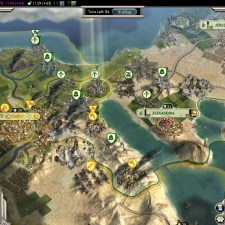 Civilization 5 Into the Renaissance Turks Deity Egypt army veterans