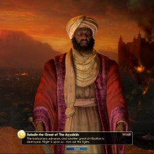 Civilization 5 Into the Renaissance Turks Deity Saladin down