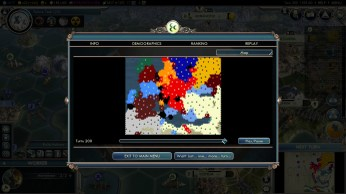Civilization 5 Into the Renaissance Turks Deity Victory map