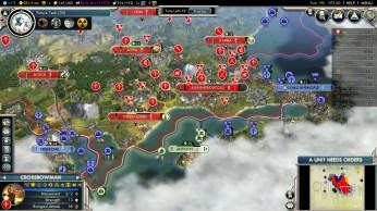 Civilization 5 Into the Renaissance Austria Deity - Constantinople Citadel