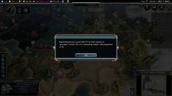 Civilization 5 Into the Renaissance Richard the Lionheart Achievement Capture Jerusalem