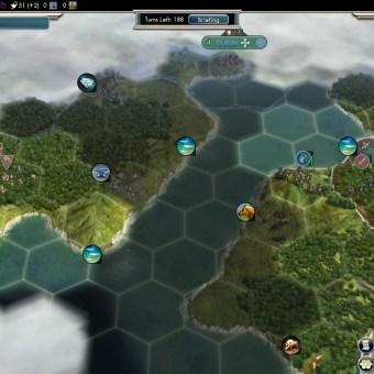 Civilization 5 Into the Renaissance England Deity City on Ireland Fail