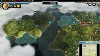 Civilization 5 Into the Renaissance England Deity City on Ireland Fail
