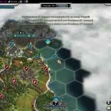 Civilization 5 Into the Renaissance England Deity Edinburgh fortification