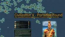 Civilization 5 Paradise Found Map