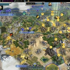 Civilization 5 Into the Renaissance Ayyubids Deity Rushing for Constantinople