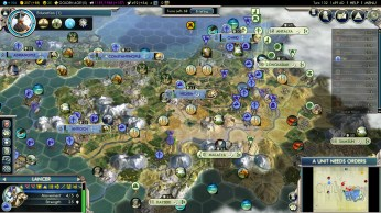 Civilization 5 Into the Renaissance Byzantium Deity Sipahi Onslaught