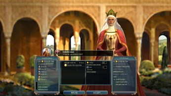 Civilization 5 Into the Renaissance Byzantium Deity Bribe Spain vs Saladin