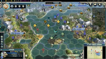 Civilization 5 Into the Renaissance Byzantium Deity Byzantine Fleet strikes back