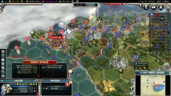 Civilization 5 Into the Renaissance Byzantium Deity Capture Ragusa