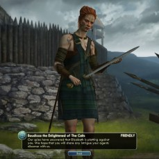 Civilization 5 Into the Renaissance France Deity Celts warn of English plot