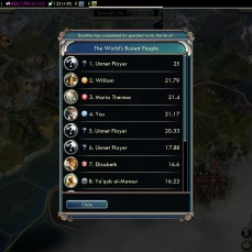 Civilization 5 Into the Renaissance France Deity 4th productive nation