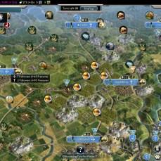 Civilization 5 Into the Renaissance France Deity Convert all northern France