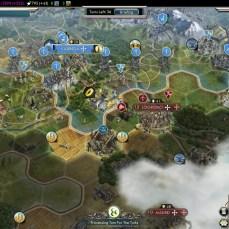 Civilization 5 Into the Renaissance France Deity Bribe Turks vs Spain