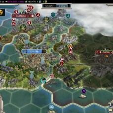 Civilization 5 Into the Renaissance France Deity Truro captured