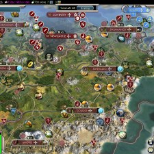 Civilization 5 Into the Renaissance Spain Deity Bribe Turks vs Almohads