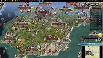 Civilization 5 Into the Renaissance Spain Deity (Almost) Unified Spain