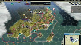 Civilization 5 Samurai Invasion of Korea Japan Deity Landing Operation