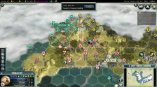Civilization 5 Samurai Invasion of Korea Japan Deity Attacking China