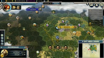 Civilization 5 Into the Renaissance Russia Deity - Swedish Settlements