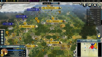 Civilization 5 Into the Renaissance Russia Deity - Solid Defense
