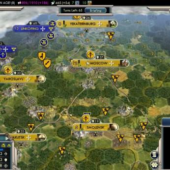 Civilization 5 Into the Renaissance Russia Deity - Solid Defense