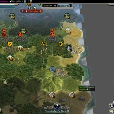 Civilization 5 Into the Renaissance Yokes on the Mongols - Focus on Settlers