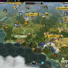Civilization 5 Into the Renaissance Yokes on the Mongols - Sweden vs Austria