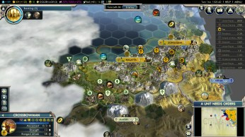 Civilization 5 Into the Renaissance Yokes on the Mongols - Caucasus