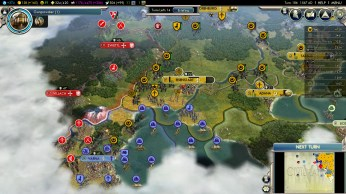 Civilization 5 Into the Renaissance Yokes on the Mongols - Byzantine Fleet