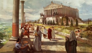 Civilization 5 Wonder - Temple of Artemis